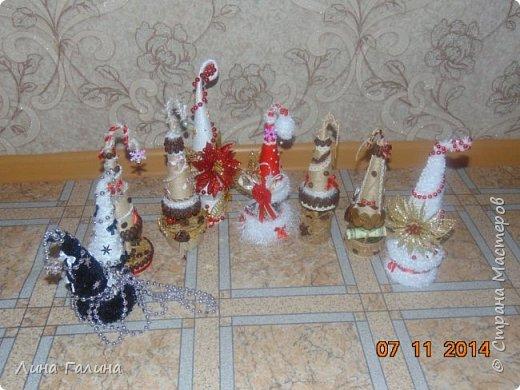 Всем привет!:)Сегодня я вам покажу свои новогодние ёлочки.Фоток будет много,надеюсь,не утомлю вас...Итак приступим!:) Елочка ,,Захотелось лета,вишни,солнца...,, фото 15