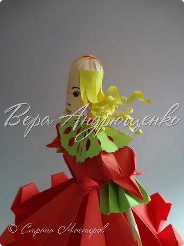 Заканчиваю свой мастер -класс. Кукла готова.. Только без головы. Голову я делала так... фото 16