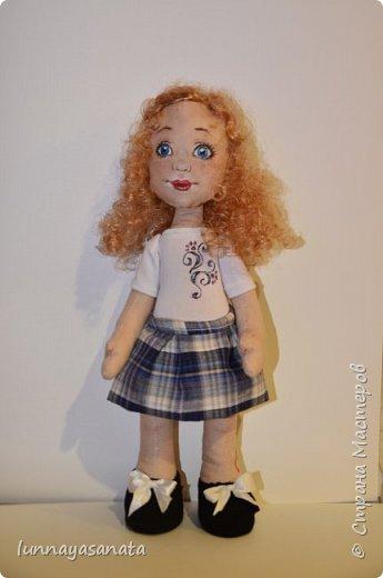 а это мои новые куколки с лицами) 35 см ростом, вся одежда снимается, в наборе два комплекта одежды, кукла в наличии) ручки гнутся, стоит сидит.  фото 6