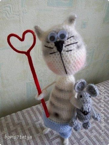 Всем доброго дня! Хочу показать, что у меня навязалось Вот Кот Валентин фото 2