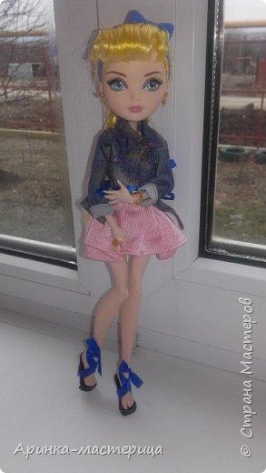 Всем приветик✌ Сегодня я решила сделать туфельки для Блонди. Вот что у меня подучилось) фото 1