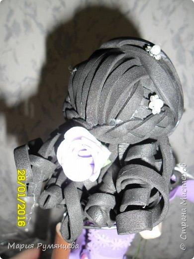 наконец-то я доделала очередную куколку ,все детали были сделаны ,но собрать руки никак не доходили фото 2