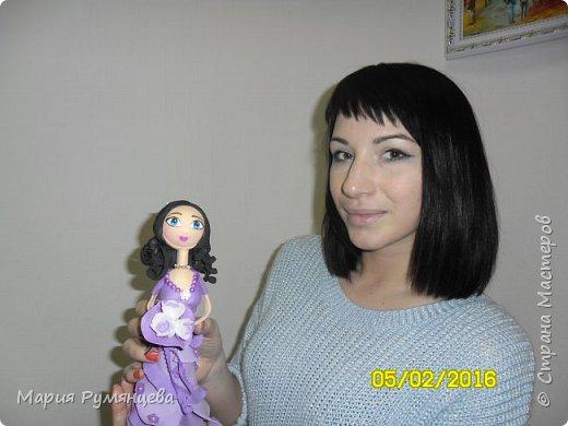 наконец-то я доделала очередную куколку ,все детали были сделаны ,но собрать руки никак не доходили фото 5
