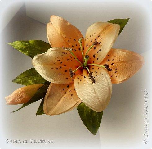 Приветствую всех гостей моего блога! Я уже рассказала как делаю тычинки и пестик для лилий,как окрашиваю лепестки и вот осталось показать сборку цветка. В этом мастер-классе я покажу свои наработки,а также классический пример создания лилий. В лилиях я новичок,только учусь,это мои первые пробы пера и если кто-то найдет что-то полезное для себя,то буду рада! фото 11