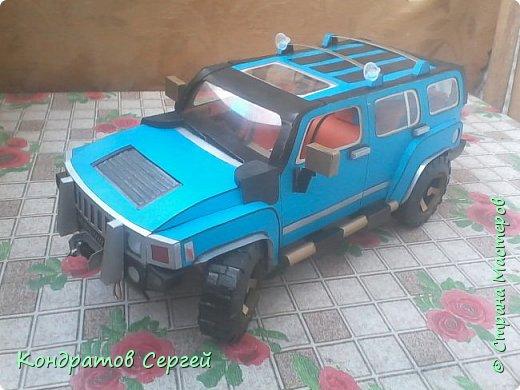 Доброго времени суток жители Страны Мастеров!!! Сегодня у меня очередная модель Hummer H3  фото 2
