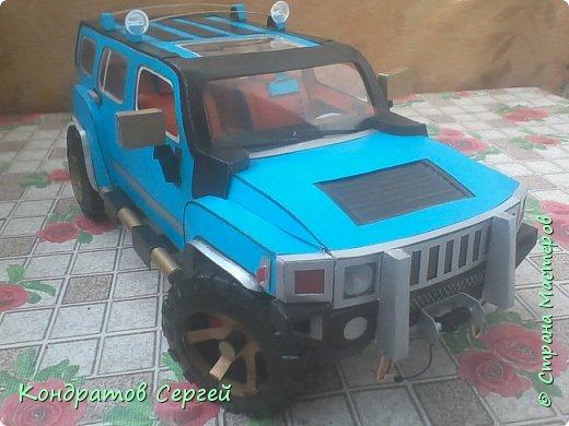 Доброго времени суток жители Страны Мастеров!!! Сегодня у меня очередная модель Hummer H3  фото 1