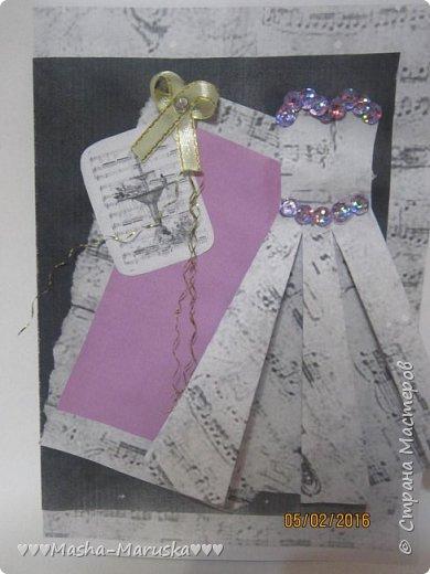 Здравствуйте! Сегодня я покажу вам три открытки. Первая была сделана бабушке на день рождения. Материалы: картон, бумага, ручка, ленточка, фломастеры. фото 13