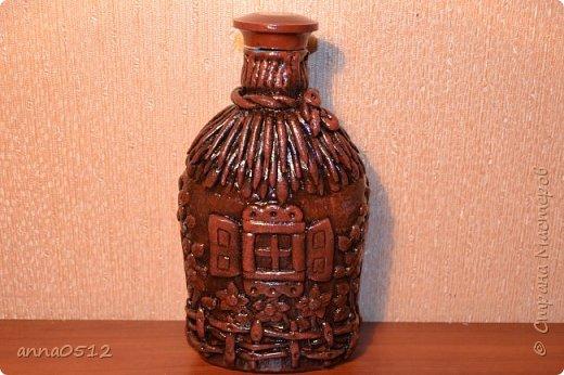 Доброго времени суток) хочу показать новую бутылочку по мотивам мк Олега Ващенко http://stranamasterov.ru/node/423374 фото 4