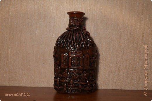 Доброго времени суток) хочу показать новую бутылочку по мотивам мк Олега Ващенко http://stranamasterov.ru/node/423374 фото 3