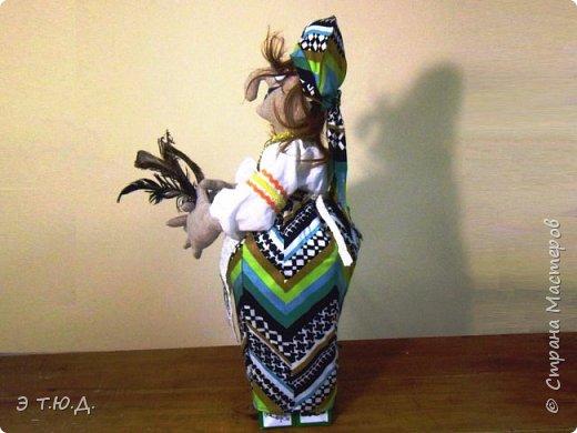 Бабка Петровишна продолжает серию бабок Ежек сшитых из текстиля. фото 3