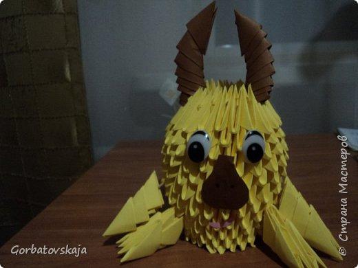 Мои первые работы в модульном оригами. фото 1