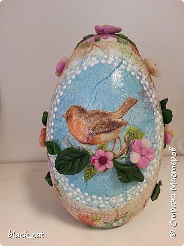 Яйцо высотой 16 см фото 1
