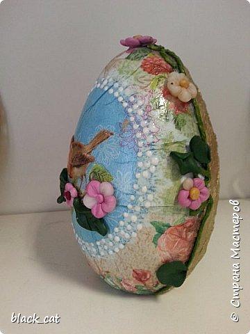 Яйцо высотой 16 см фото 2