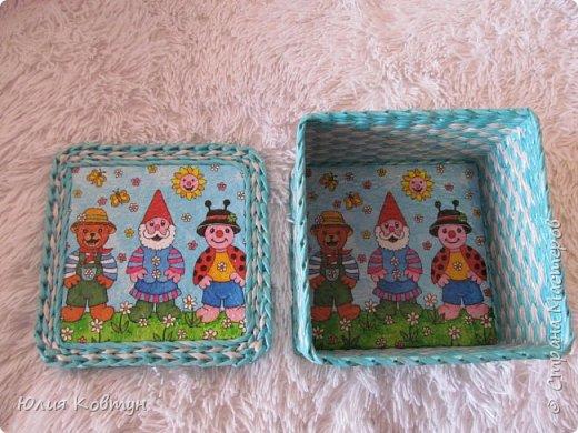 Эти шкатулки сделала для детского магазина фото 12