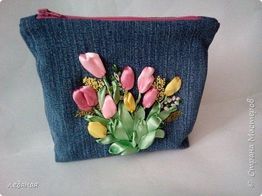 К 8 марта тюльпаны и мимоза! 15х11 с донышком фото 1