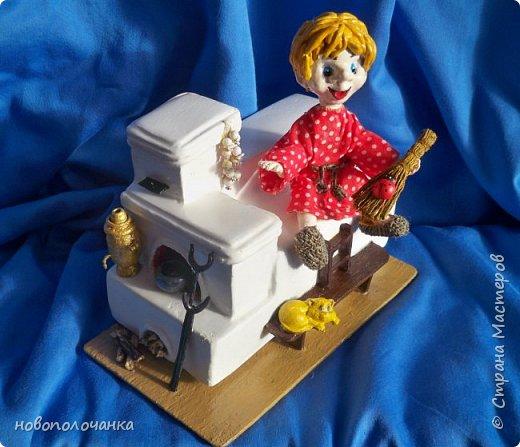 Этот домовёнок сделан для младшей доченьки и уже очень  далеко. фото 29