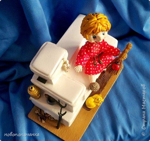 Этот домовёнок сделан для младшей доченьки и уже очень  далеко. фото 34