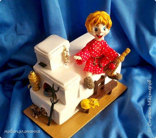 Этот домовёнок сделан для младшей доченьки и уже очень  далеко. фото 35