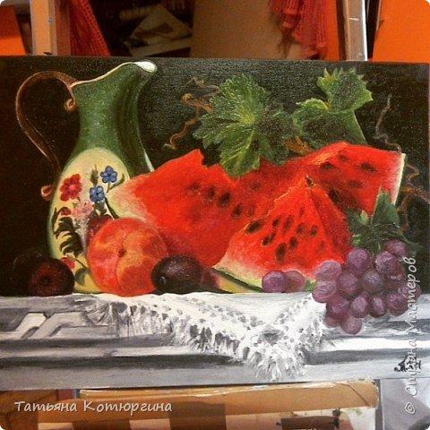 Натюрмот с арбузом, одна из любимых фото 1