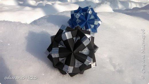 Name: Passiflora Designer: Ekaterina Lukasheva Parts: 30 Paper's size: 7*7 cm Joint: wiht glue Final height:  cm  http://www.kusudama.me/origami/Passiflora#alin2 фото 7