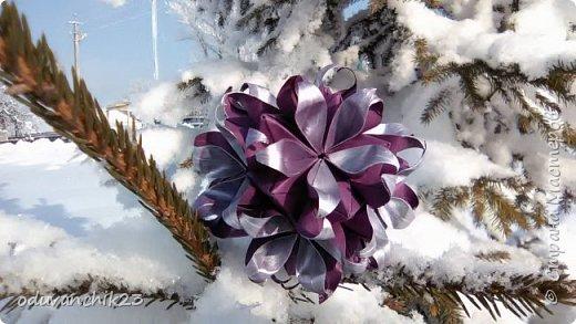 Name: Passiflora Designer: Ekaterina Lukasheva Parts: 30 Paper's size: 7*7 cm Joint: wiht glue Final height:  cm  http://www.kusudama.me/origami/Passiflora#alin2 фото 1