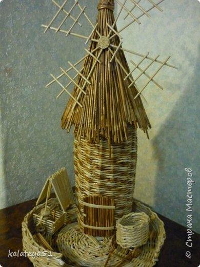 мои плетения из газет фото 3