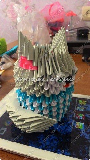 Спустя 4 месяца после рождении дочки, я снова начала заниматься оригами. А так же первая поделка в Новом году фото 4
