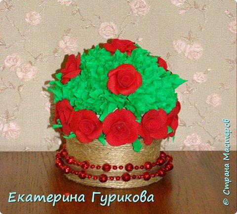 "Топиарий "" Розочка"" фото 2"