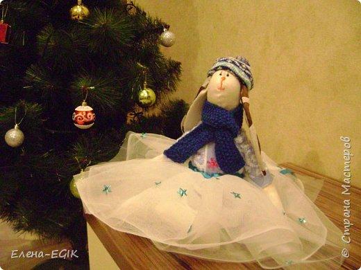 Знакомьтесь зайка-тильда Новогодняя!!! фото 4