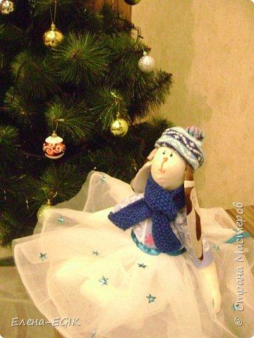 Знакомьтесь зайка-тильда Новогодняя!!! фото 3