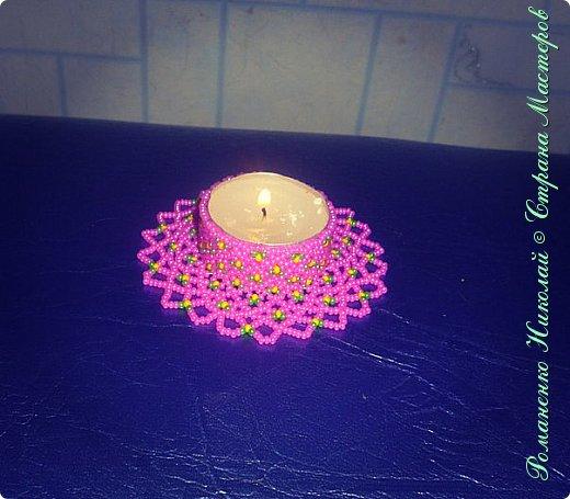Свеча из бисера