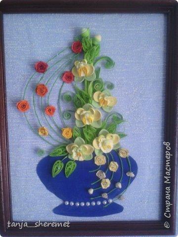 Добрый день всем рукодельницам! Давно не писала, как то времени не хватало. А это посмотрела работы Ольги Ольшак и так захотелось что то сотворить!!!! Вот и сотворила. Это мои первые орхидеи. Идея Ольги , цветы мои. Конечно до совершенства с орхидеями мне еще долго, но все ровно, скажите своё мнение, буду очень рада! Спасибо. фото 3