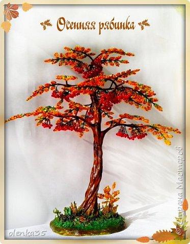 Осенняя рябинка фото 1