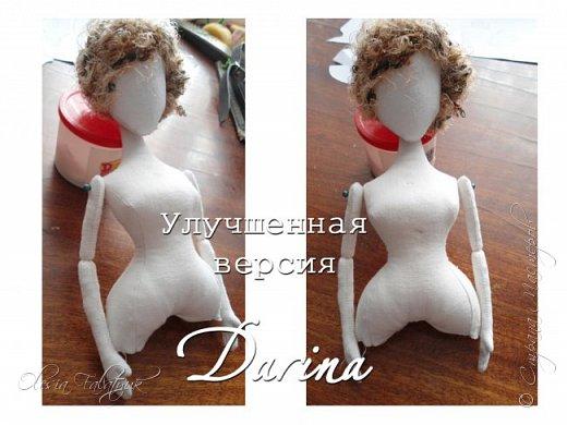 Обновление в выкройке куклы Darina. Новая форма. фото 15