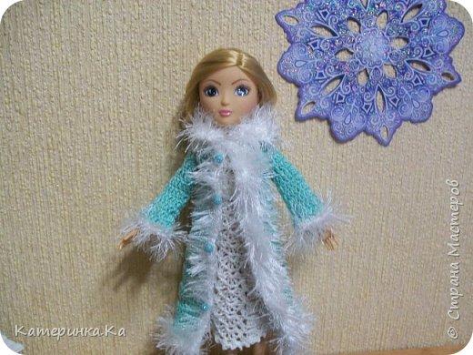 Всем привет!  А мы с зимними обновками.  Комплект для Элли связан по МК Мирабэлы http://stranamasterov.ru/node/962571 фото 2