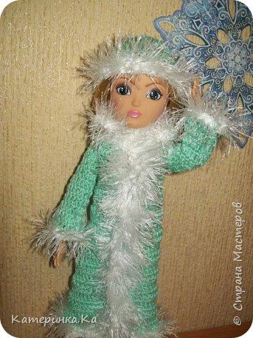 Всем привет!  А мы с зимними обновками.  Комплект для Элли связан по МК Мирабэлы http://stranamasterov.ru/node/962571 фото 3