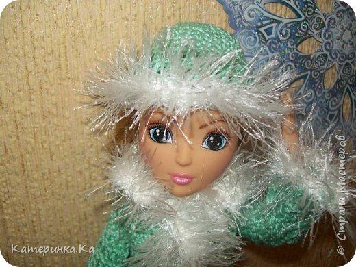 Всем привет!  А мы с зимними обновками.  Комплект для Элли связан по МК Мирабэлы http://stranamasterov.ru/node/962571 фото 1