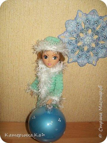 Всем привет!  А мы с зимними обновками.  Комплект для Элли связан по МК Мирабэлы http://stranamasterov.ru/node/962571 фото 4