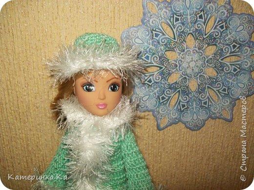 Всем привет!  А мы с зимними обновками.  Комплект для Элли связан по МК Мирабэлы http://stranamasterov.ru/node/962571 фото 5