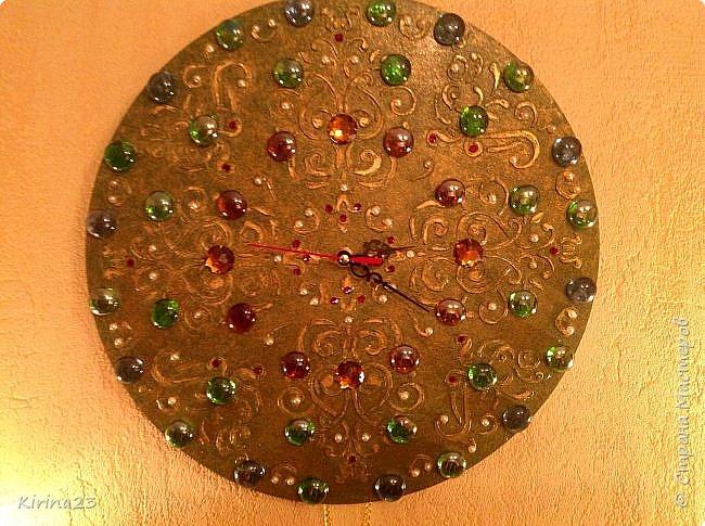 Часы- мандала фото 2