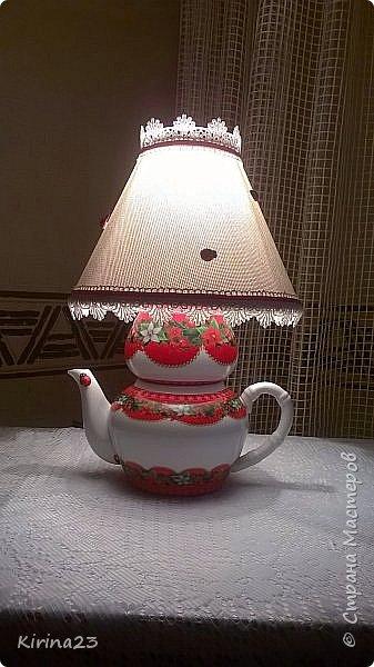 """Светильник """" Приятное чаепитие"""" фото 2"""