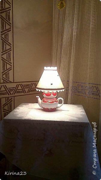 """Светильник """" Приятное чаепитие"""" фото 4"""