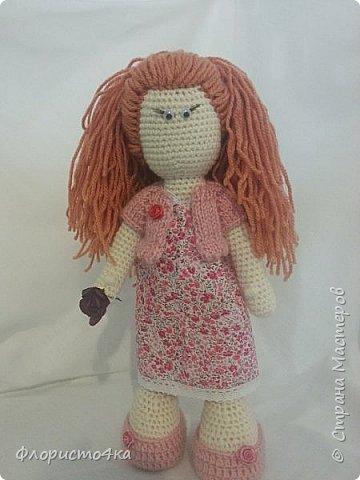 """Бродя по просторам интернета, нашла много мастер- классов по вязаным куклам. Вот, """"навязалось"""", просто так, для настроения.   фото 1"""