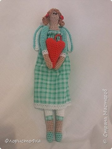 """Бродя по просторам интернета, нашла много мастер- классов по вязаным куклам. Вот, """"навязалось"""", просто так, для настроения.   фото 3"""