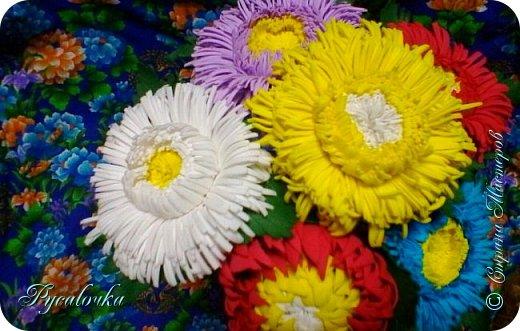 Добрый вечер Страна Мастеров! Сегодня я хочу представить Вашему вниманию свой первый ободочек с цветами из фоамирана. фото 6