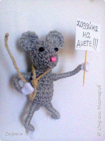 Привет всем, я сегодня вот с таким мышкинсом.   фото 1