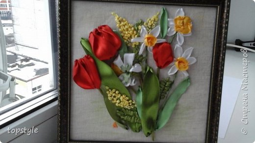 Тюльпаны  и нарцисы фото 1