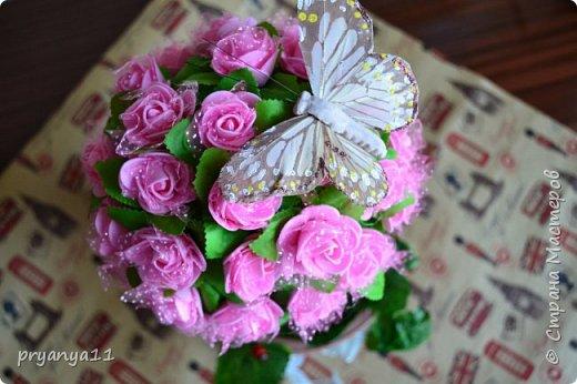 Топиарий цветочный фото 1