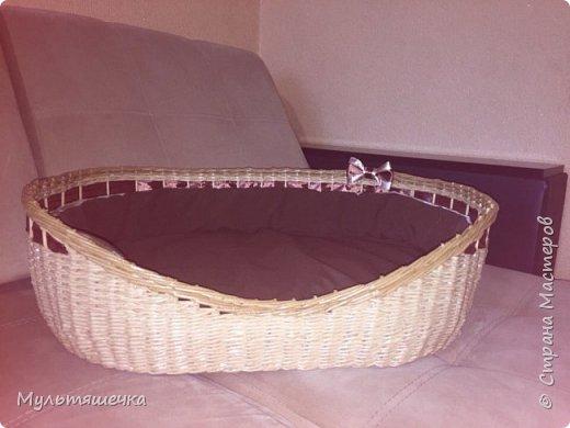 Моя первая большая плетёночка!!!  фото 7