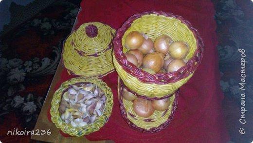 Домик для лука и чеснока фото 3